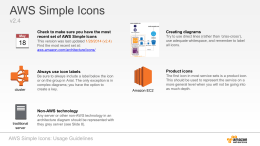 AWS Simple Icons - Amazon Web Services