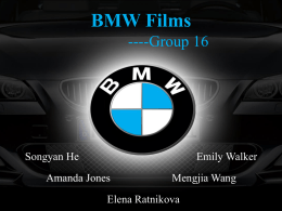BMW Films Case Study