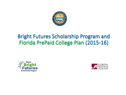Bright Futures Scholarship Program