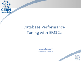 Database_Performance_Tuning_12c