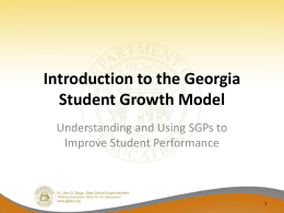 Introduction to the GSGM PowerPoint