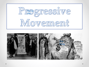 Progressive Movement - Golden Valley High School