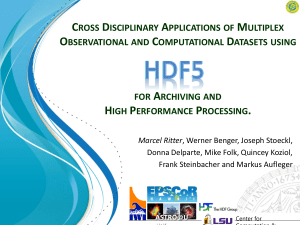 HDF5 filters - The HDF Group