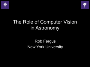FCV_AppliScience_Fergus - Frontiers in Computer Vision