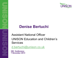 Denise Bertuchi - Career Guidance