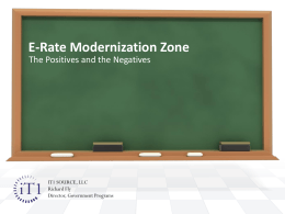 E-Rate Modernization Zone