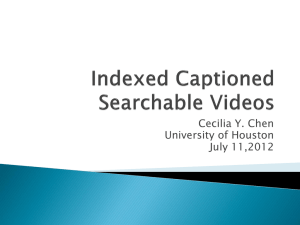 ICS Videos - CBL - University of Houston