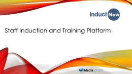 InductNow Staff Induction Management System_2014