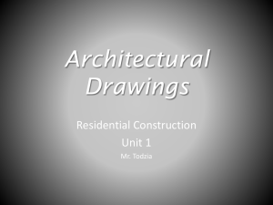 Unit 1 Architectural Drawings