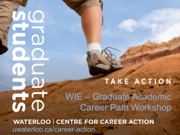 Centre for Career Action