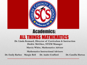 All Things Mathematics