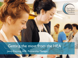 Getting the most from the HEA