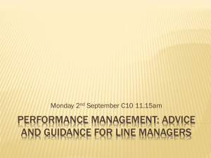 Performance Management and the new teachers* standards