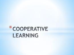3 Cooperative Learning