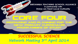 Slides - Britannia Teaching School Alliance