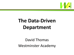 140927 Data-Driven Department (Kettering)