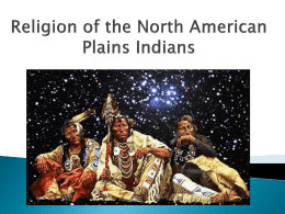 Plains Indians Religion