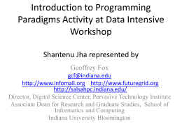 Introduction to Programming Paradigms