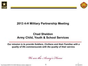 rmy Child, Youth and School Services - 4