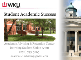 Student Academic Success