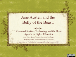 Jane Austen and the belly of the beast