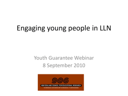 view the presentation here - National Centre of Literacy and