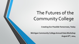 The Future of the Community College