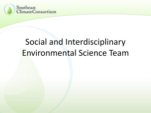 Social & interdisciplinary science research, engagement, & tools