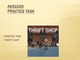 Thrift Shop powerpoint