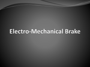 click to save-Electro-Mechanical Brake