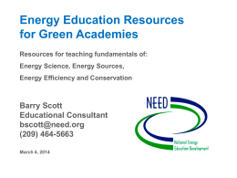 EnergyEducationForGreenAcademies
