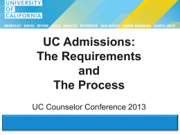 CC13_UC_Admissions_The_Requirements_and_The_Process
