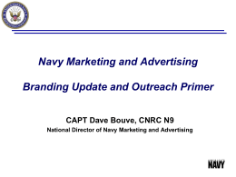 CNRC Outreach - US Navy Outreach