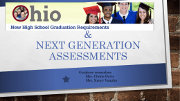 to view the High School Graduation Requirements powerpoint