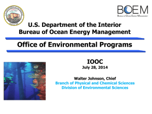 Environmental Program Mission
