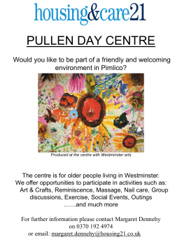 PULLEN DAY CARE CENTRE