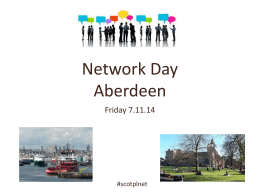 Scottish PL Network Day – update - Glow Blogs