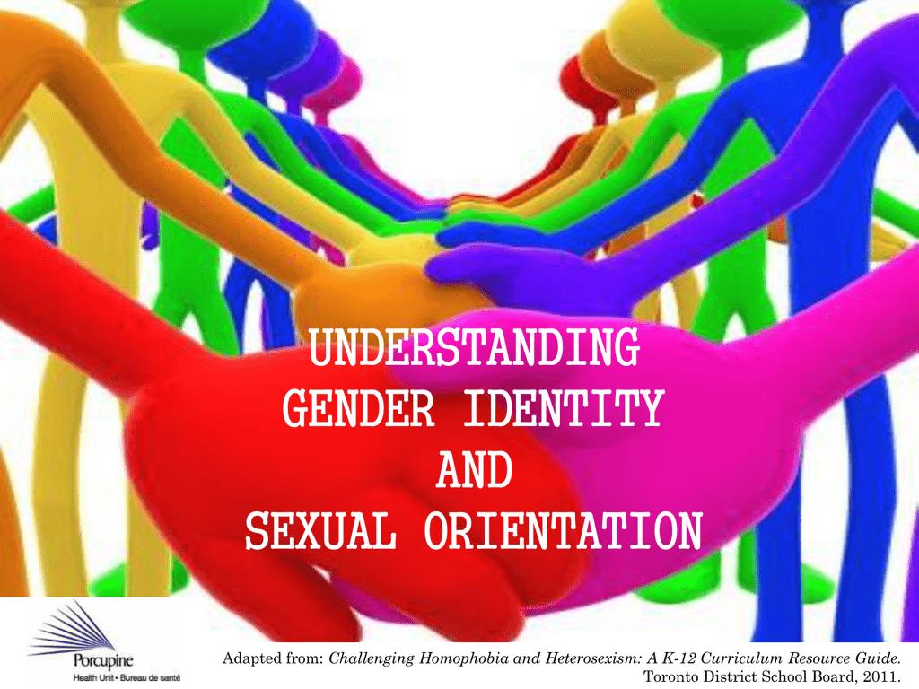 Gender Identity and Sexual Orientation PowerPoint Presentation