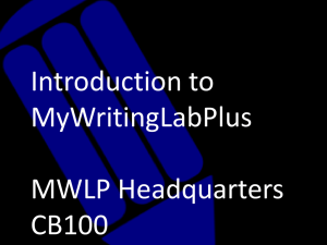 How to use MWLP (powerpoint)
