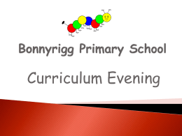 P7 - Bonnyrigg Primary School