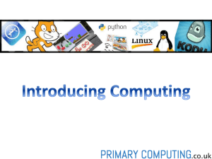 Introducing Computing