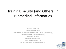 Recent Trends in Biomedical and Health Informatics