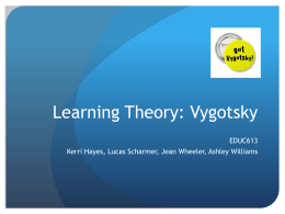 Learning Theorist Group - Jean Bordner Portfolio