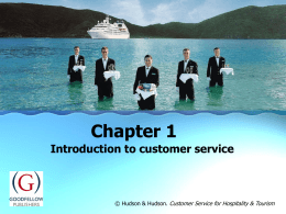 Customer service - Goodfellow Publishers