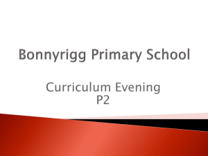 P2 - Bonnyrigg Primary School