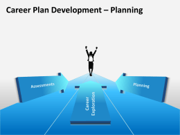 Career Plan Development