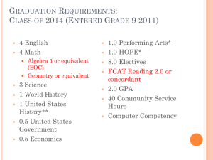 GraduationRequirements.LauraCohen