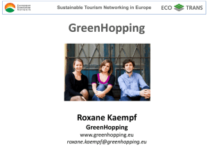 Roxane Kaempf - GreenHopping