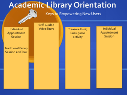 Academic Library Orientation