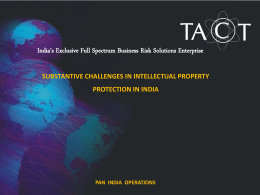 Substantive Challenges In Intellectual Property